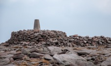 The summit of Ben Macdui