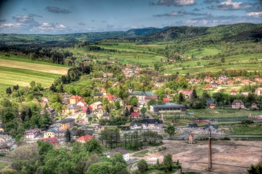 The village of Szczytna